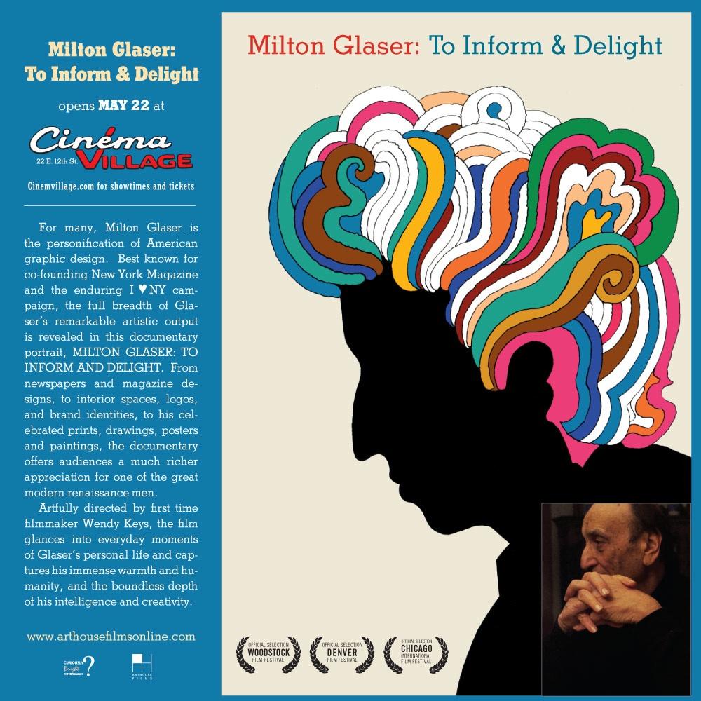 Milton Glaser  Biography